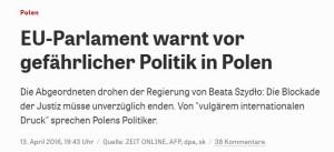 Zmasowany atak medialny na Polskę trwa.