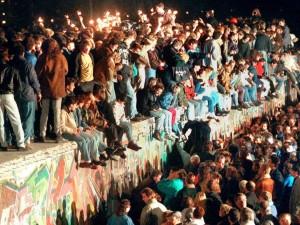upadek muru 9.XI. 1989