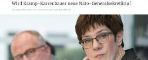 Czy Niemka będzie szefem NATO?