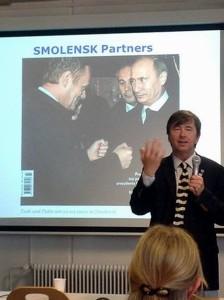 Wyjątkowe zainteresowanie wykładem w Hamburgu.